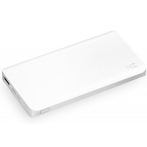 Внешний аккумулятор Xiaomi Mi Power Bank ZMI 10000 mAh белый