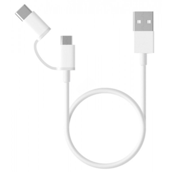 Кабель Xiaomi Mi USB Type-C/Micro USB 100 см.