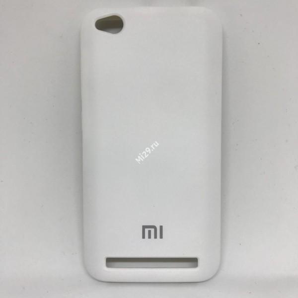 Чехол soft-touch белый Redmi 5A