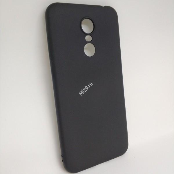 Чехол силиконовый J-Case черный Redmi 5 Plus