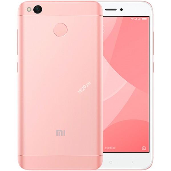 Смартфон Xiaomi Redmi 4X 32Gb розовый