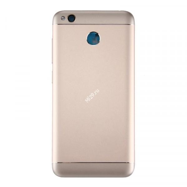 Корпус Xiaomi Redmi 4X золотой