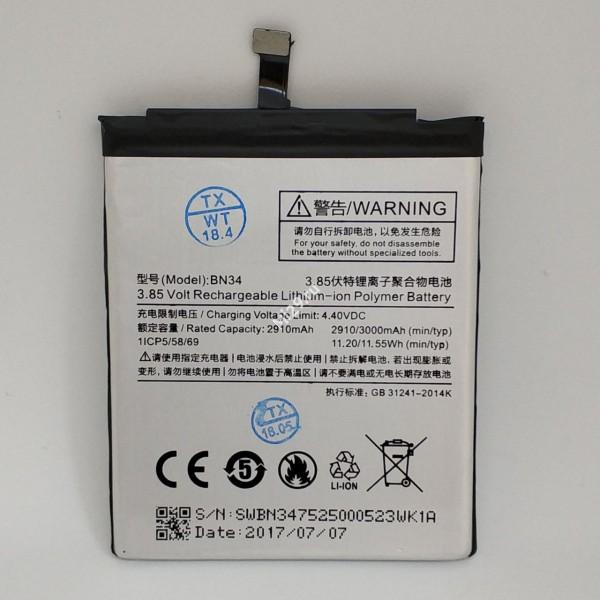 Аккумулятор Xiaomi Redmi 5A BN34