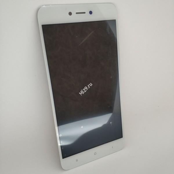 Дисплей Xiaomi Redmi Note 5A белый