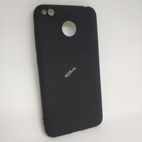 Чехол силиконовый J-Case черный Redmi 4X