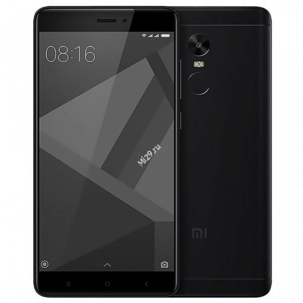 Смартфон Xiaomi Redmi Note 4X 32Gb черный