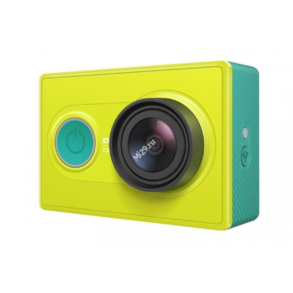 Видеокамера Xiaomi Yi Action Camera Basic Edition зеленая