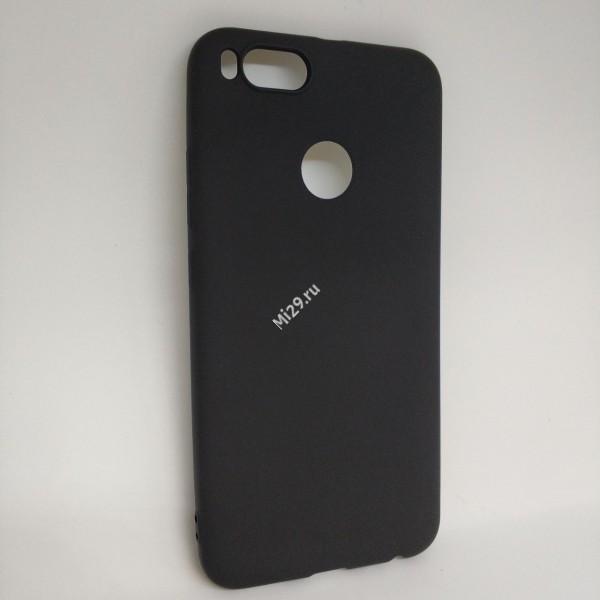 Чехол силиконовый J-Case черный Mi A1