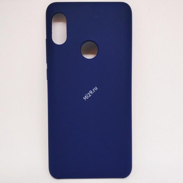 Чехол оригинальный Hard Case Redmi Note 5 Pro синий