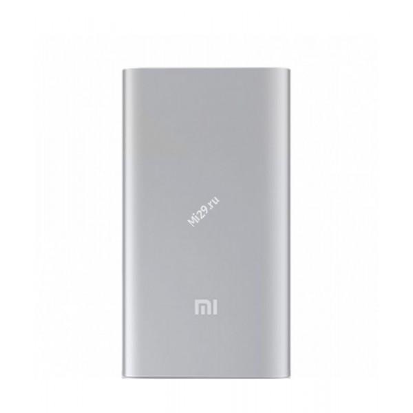 Внешний аккумулятор Xiaomi Mi Power Bank 5000 mAh серебристый