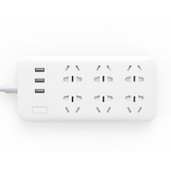 Удлинитель Xiaomi Mi USB Power Strip 6 + 3 USB