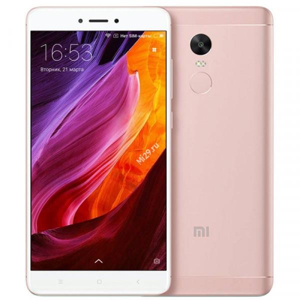 Смартфон Xiaomi Redmi Note 4X 32Gb розовый