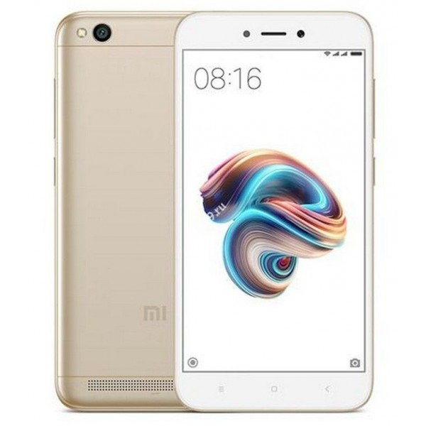Смартфон Xiaomi Redmi 5A 16Gb золотой