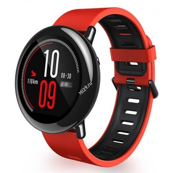 Часы Xiaomi Amazfit Smartwatch красные