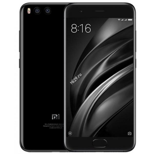 Смартфон Xiaomi Mi6 4/64Gb черный