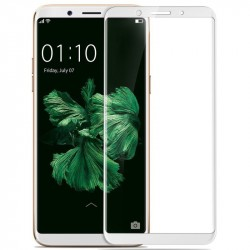Стекло 5D Redmi 5 Plus белое