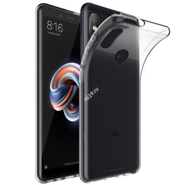 Чехол силиконовый Redmi Note 5