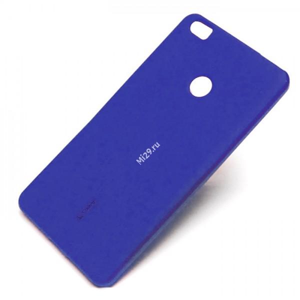 Чехол силиконовый Cherry синий Redmi 4X