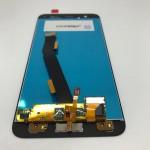 Дисплей Xiaomi Mi6 белый со сканером отпечатка пальца