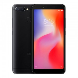 Смартфон Xiaomi Redmi 6 4/64Gb черный