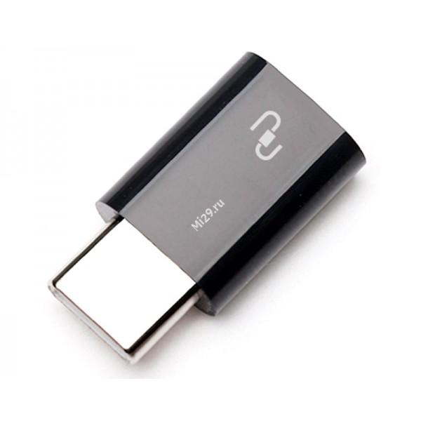Переходник Xiaomi Mi USB Type-C to Micro USB
