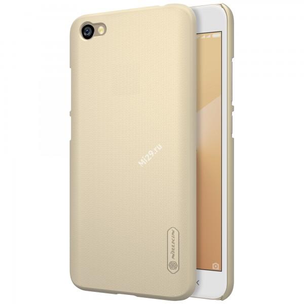 Чехол пластиковый Nillkin золотой Redmi Note 5A 16Gb