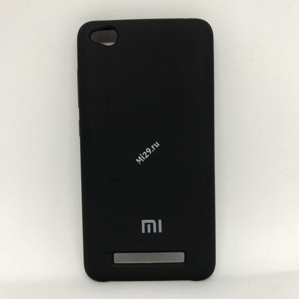 Чехол soft-touch черный Redmi 4A