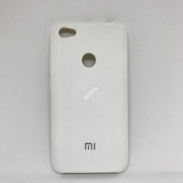 Чехол soft-touch белый Redmi Note 5A Prime