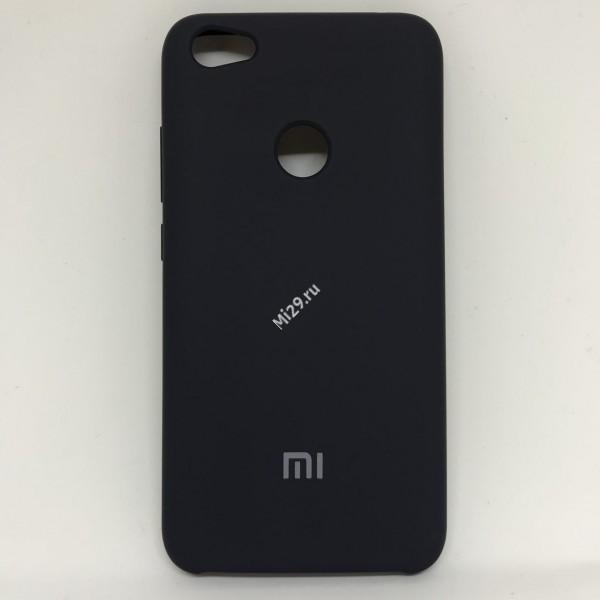 Чехол soft-touch темно-синий Redmi Note 5A Prime