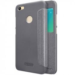 Чехол Nillkin Sparkle Leather серый Redmi Note 5A Prime