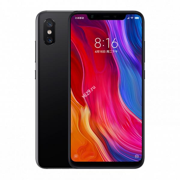 Смартфон Xiaomi Mi8 64Gb черный