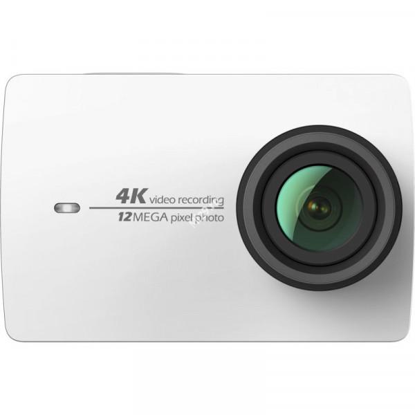 Видеокамера Xiaomi Yi 4k Action Camera белая