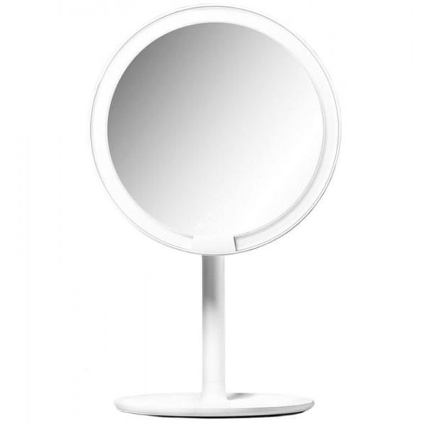 Зеркало для макияжа Xiaomi Amiro Lux High Color белое