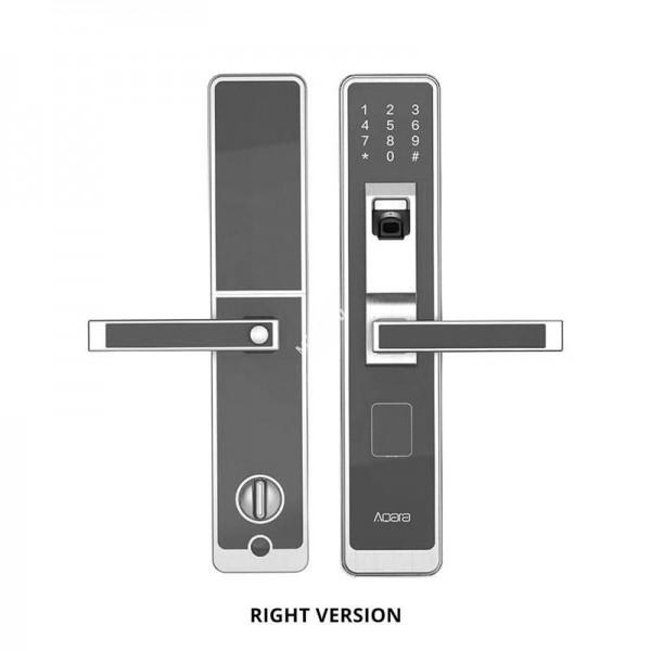 Дверной замок Xiaomi Aqara Smart Door Lock серебристый (Вправо)