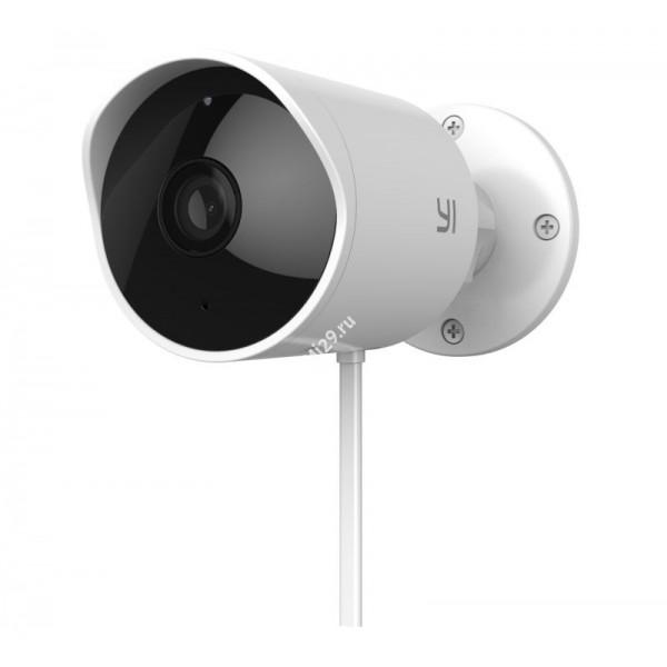 Видеокамера Xiaomi Yi Smart Outdoor Camera белая