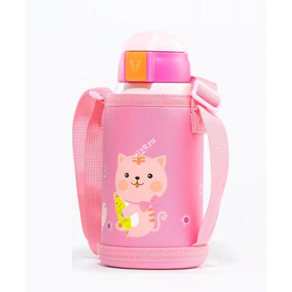 Термос Xiaomi Viomi Children Vacuum Flask 590ml розовый