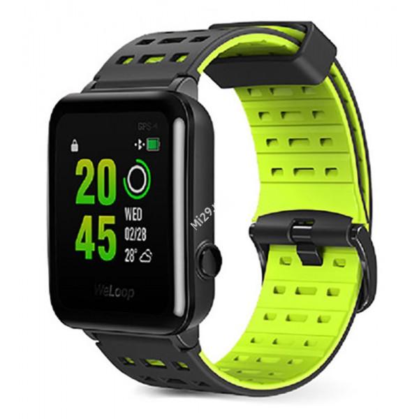 Часы Xiaomi WeLoop Hey 3S черно-зеленые