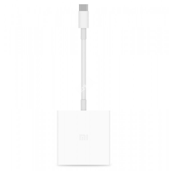 Адаптер Xiaomi USB Type-C to HDMI белый