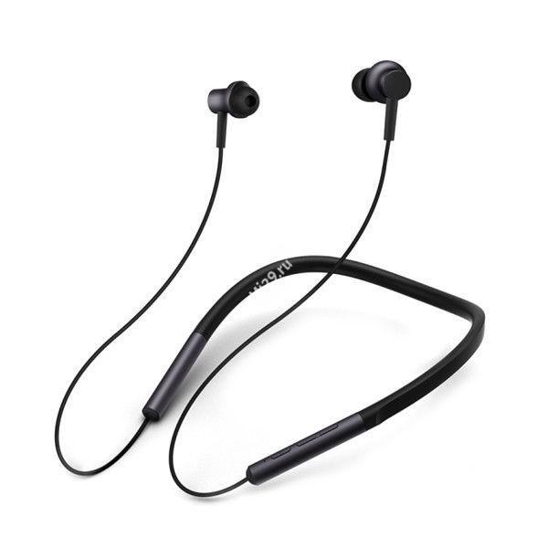 Беспроводные наушники Xiaomi Mi Bluetooth Neckband Headphones черные