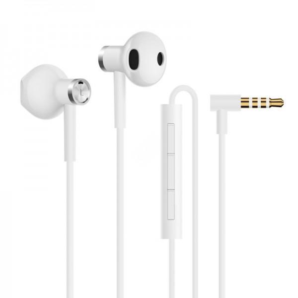 Наушники Xiaomi Mi Dual-Unit Earphones белые