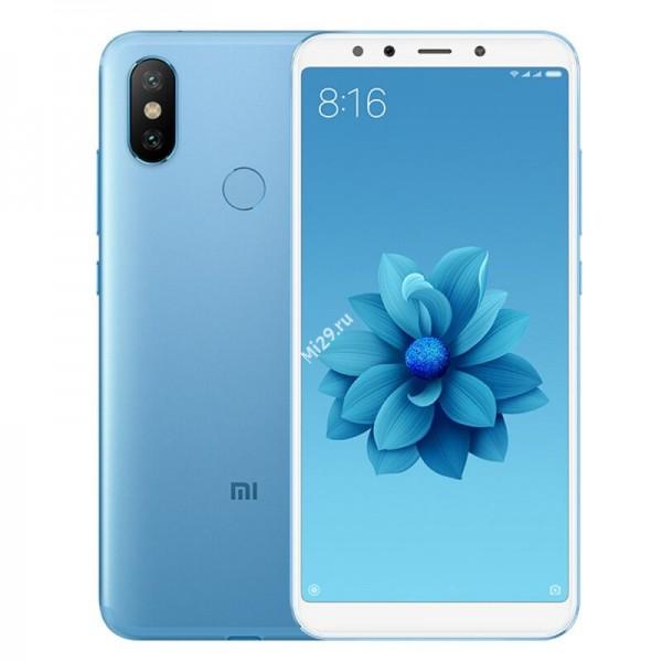 Смартфон Xiaomi Mi A2 6/128Gb голубой