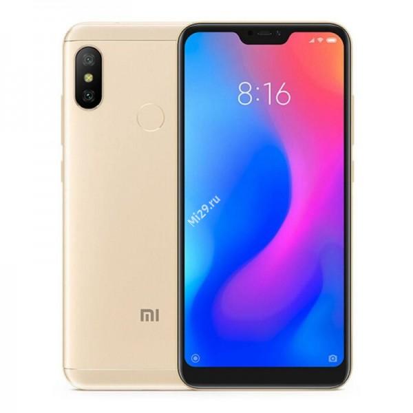 Смартфон Xiaomi Mi A2 Lite 4/32Gb золотой