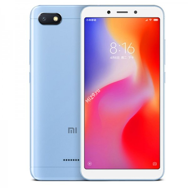 Смартфон Xiaomi Redmi 6A 2/32Gb голубой