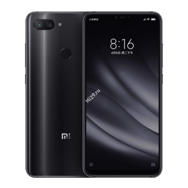 Смартфон Xiaomi Mi8 Lite 4/64Gb черный