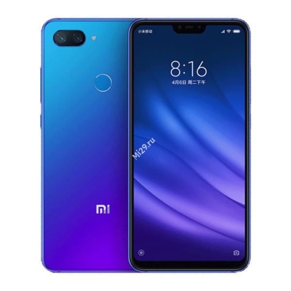Смартфон Xiaomi Mi8 Lite 6/64Gb синий