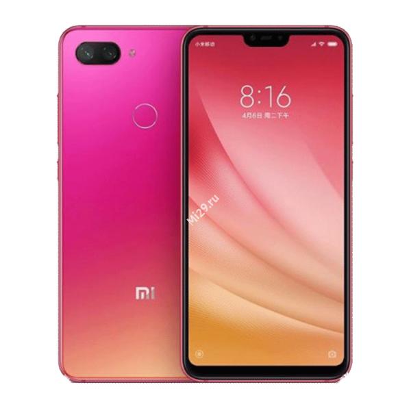 Смартфон Xiaomi Mi8 Lite 6/64Gb розовый