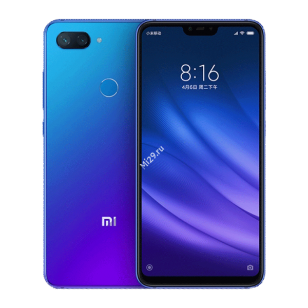 Смартфон Xiaomi Mi8 Lite 6/128Gb синий