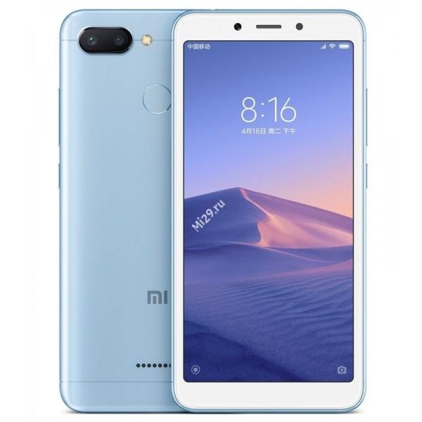 Смартфон Xiaomi Redmi 6 3/64Gb голубой