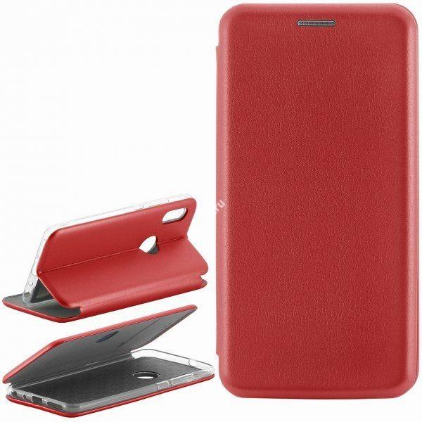 Чехол Book Сase с визитницей для Xiaomi Mi A2 красный