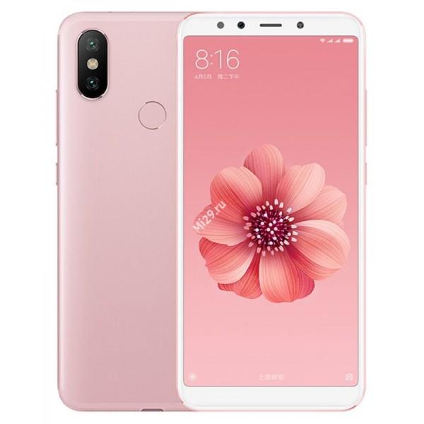 Смартфон Xiaomi Mi A2 4/64Gb розовый
